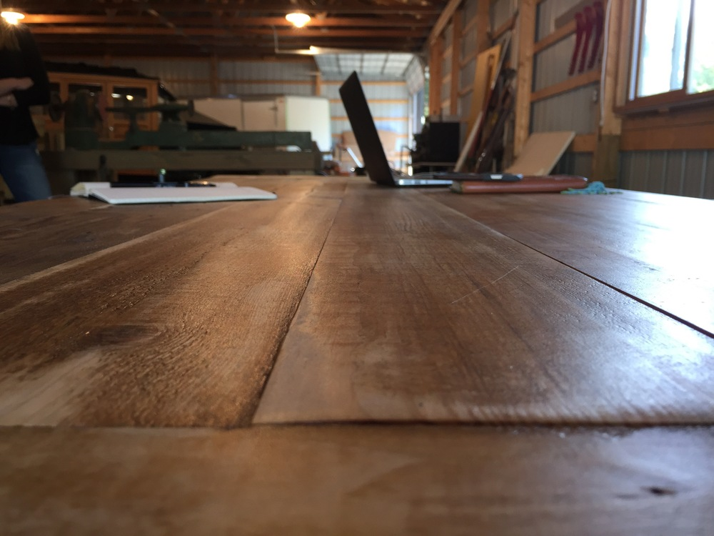 Beams & Boards Table | A Look Into