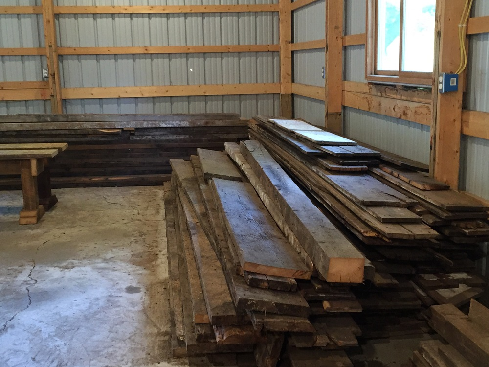 Beams & Boards Pile | A Look Into