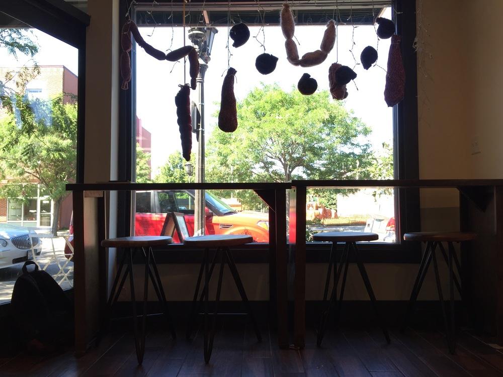 St. Paul Meat Shop Window | A Look Into
