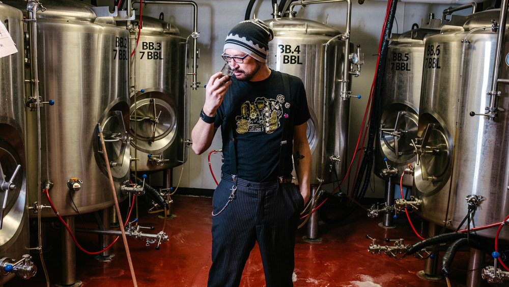 Lonnie Manresa of Clockwerks Brewing - A Look Into