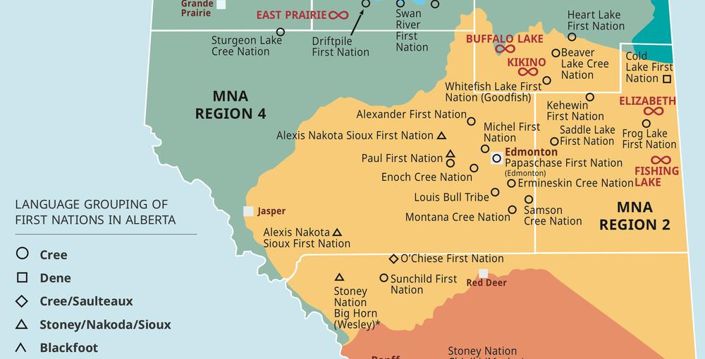Treaty 6 Map Treaty 6 Territory — April MacDonald Killins Treaty 6 Map