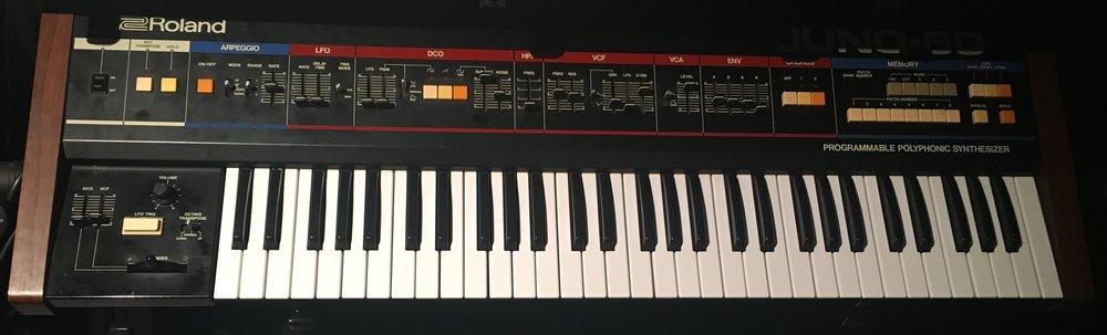 Roland Juno-60$150/day -