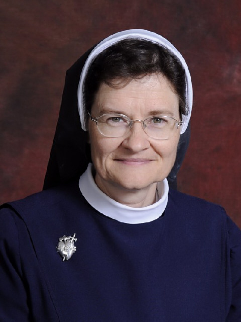 Sr. Mary Anne Kirkland, IHM (WSU Alum, her parents are permanent community members)