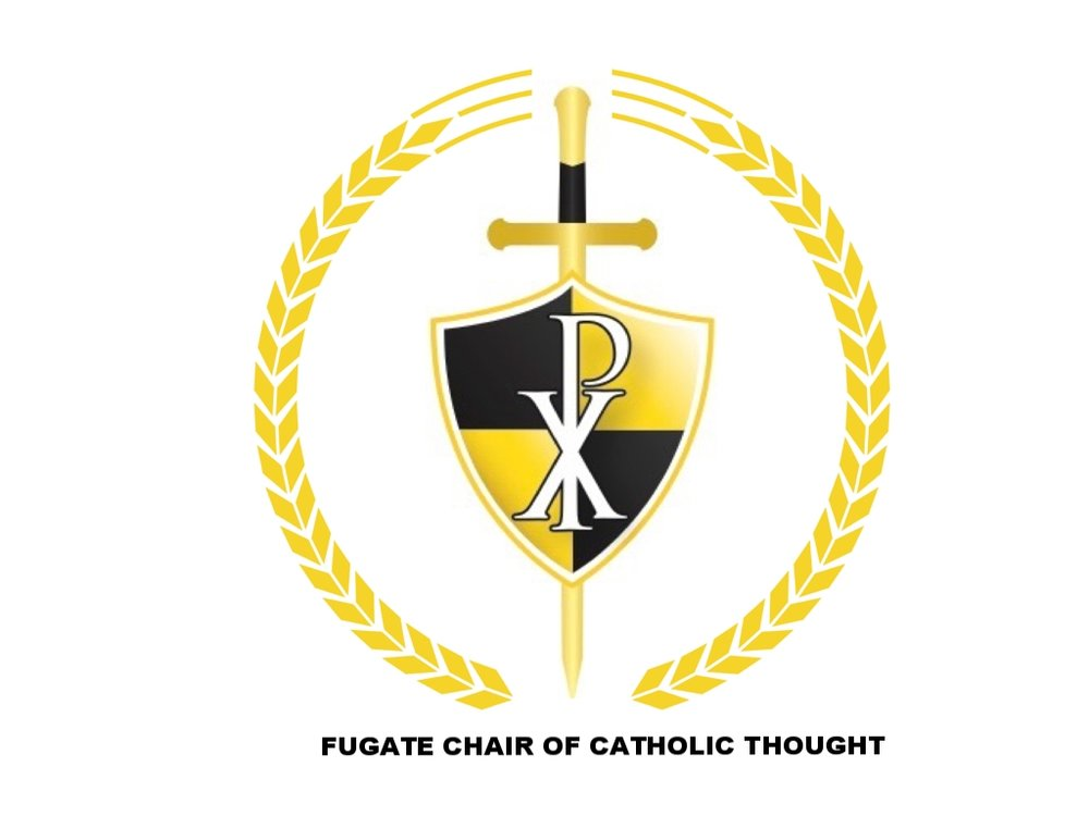 ABOVE: The official logo for THE FUGATE CHAIR OF CATHOLIC THOUGHT
