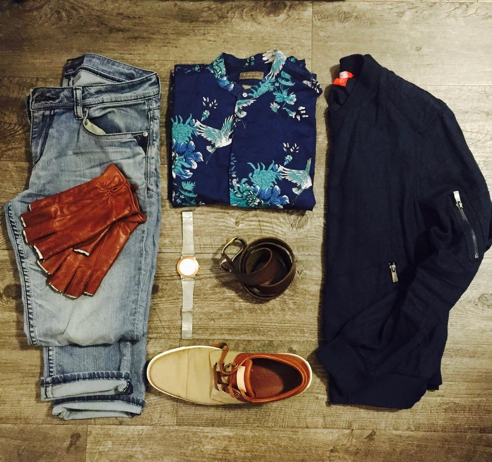 Pants:  Seven7 Jeans  Top & Jacket:  ZARA  Watch:  Kenneth Cole  Shoes:  Louis Vuitton
