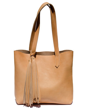 Everyday Tote - Natural BARA Natural Leather ... 792e5cb699