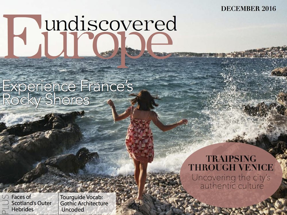 Undiscovered Europe: Cover