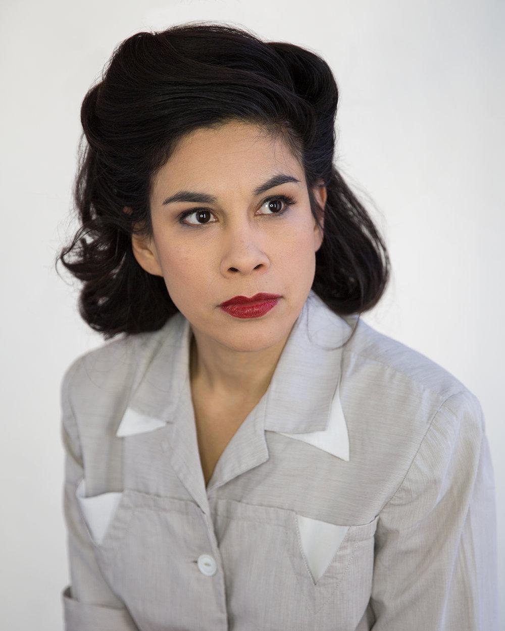 Diana Sofia-Estrada as María Chinchilla Recinos