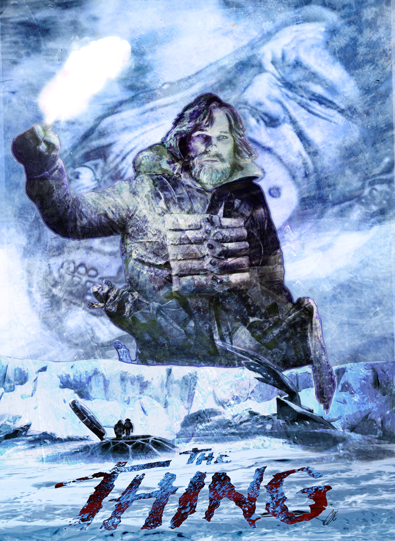 The Thing 35th Print  - I will have limited numbers of my artwork from The Thing Artbook