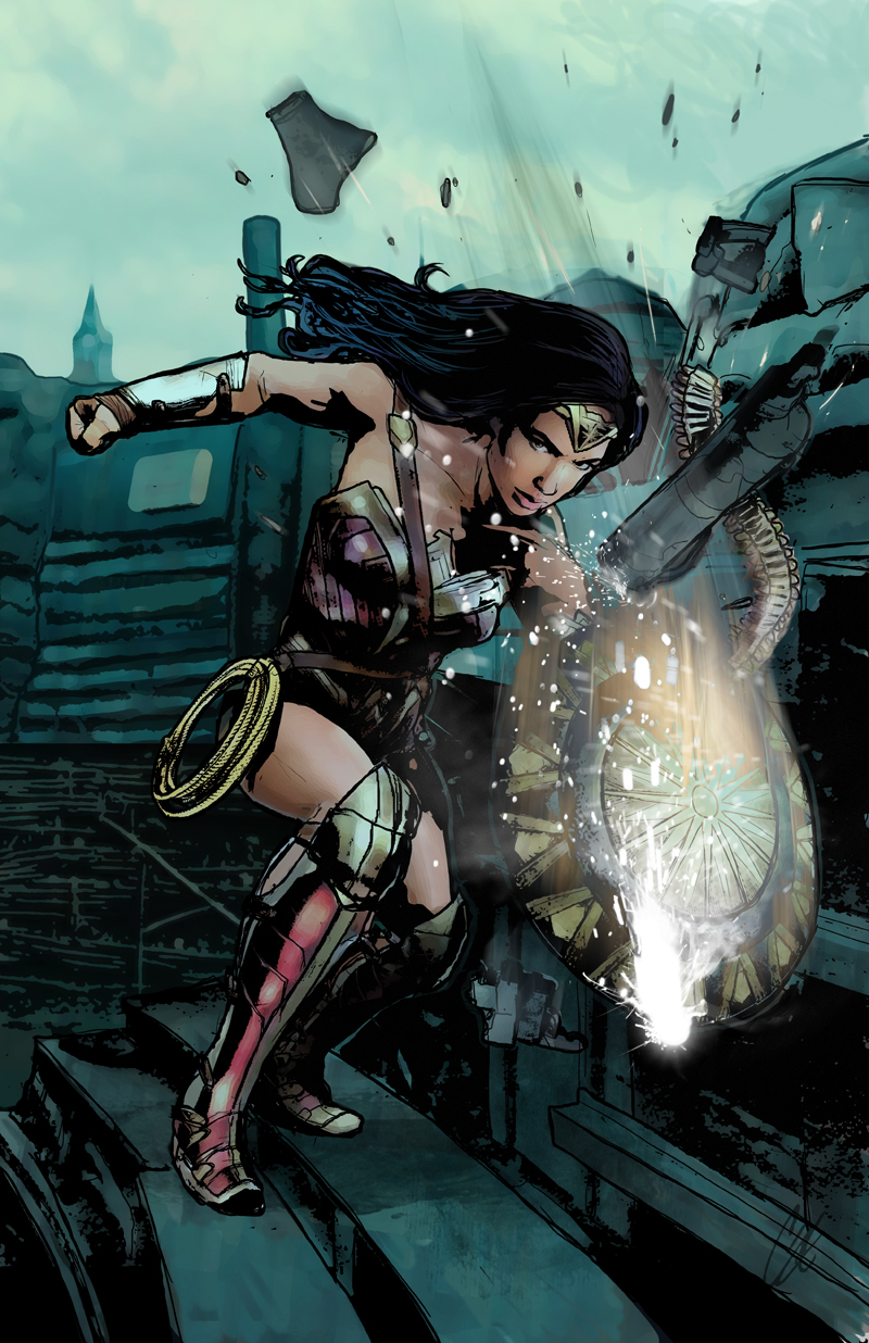 New Wonder Woman Print! - Limited quanitites
