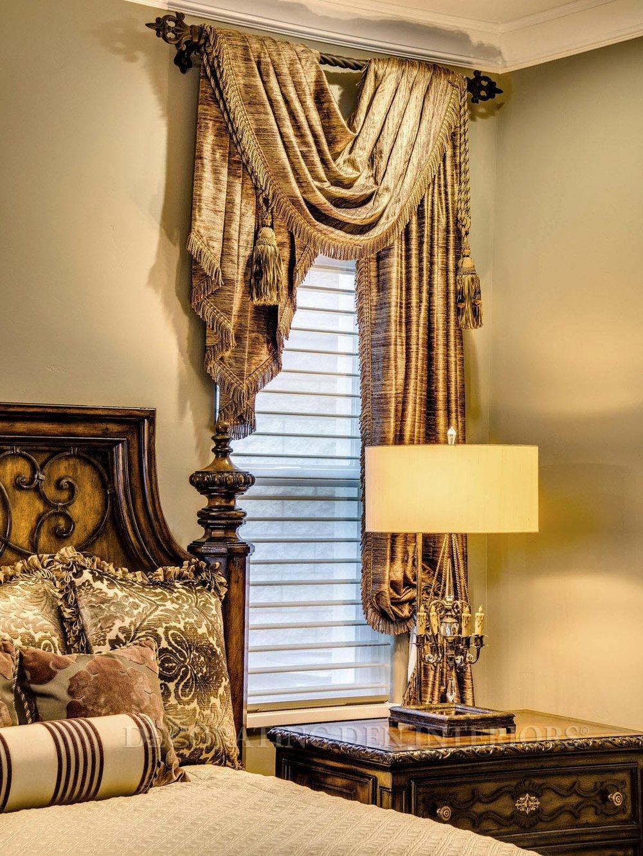 gold-beige-elegant-drapery-interior-design