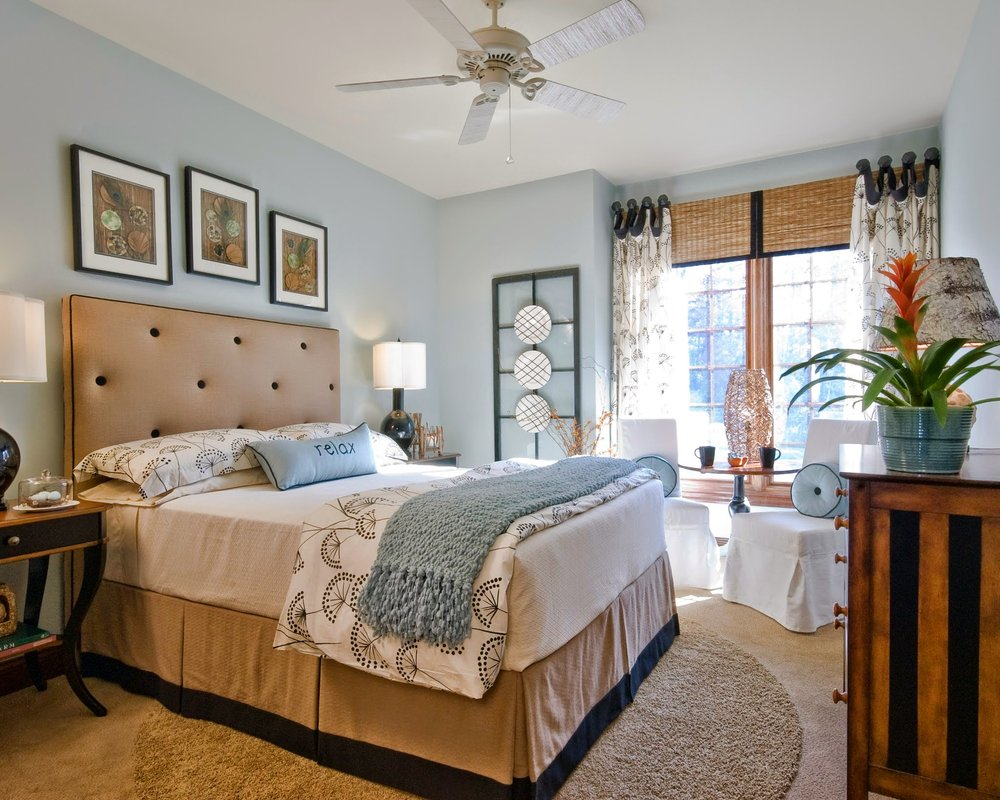 Bedroom Decor - Huntington Beach CA