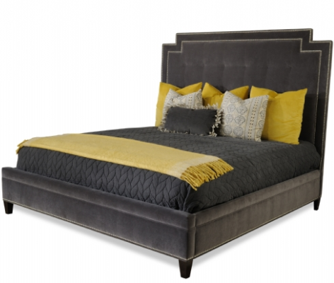 Custom Made Upholstered Bed