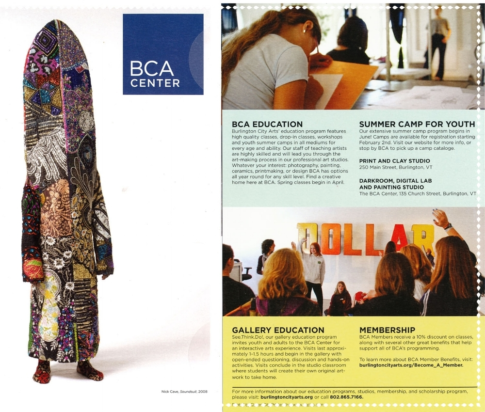 Brochure, BCA summer classes