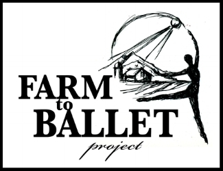 Farm to Ballet logo by J.Heloise