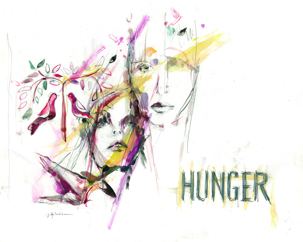 Hunger, 2013 (from Fashion Faces series)