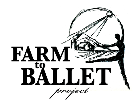 Farm to Ballet Logo by JHeloise