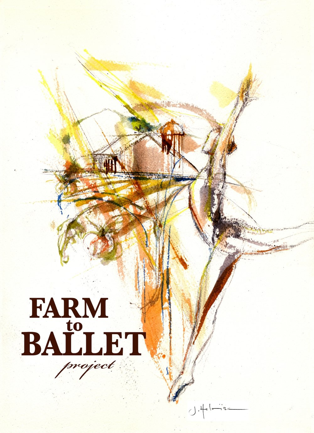 Farm to Ballet art by JHeloise