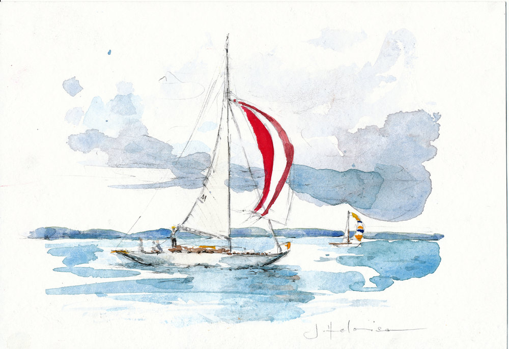 Sailboats with Spin, 2011