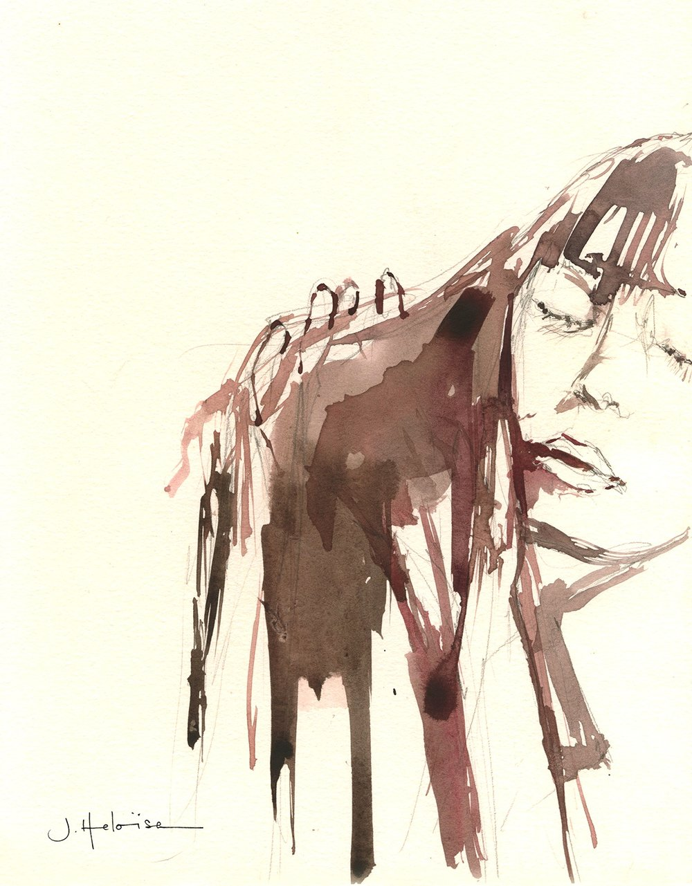 Not Sleeping, 2013 (from Fashion Faces)