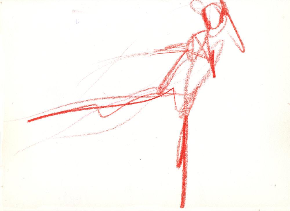 Taekwondo in Red (female fighter), 2015