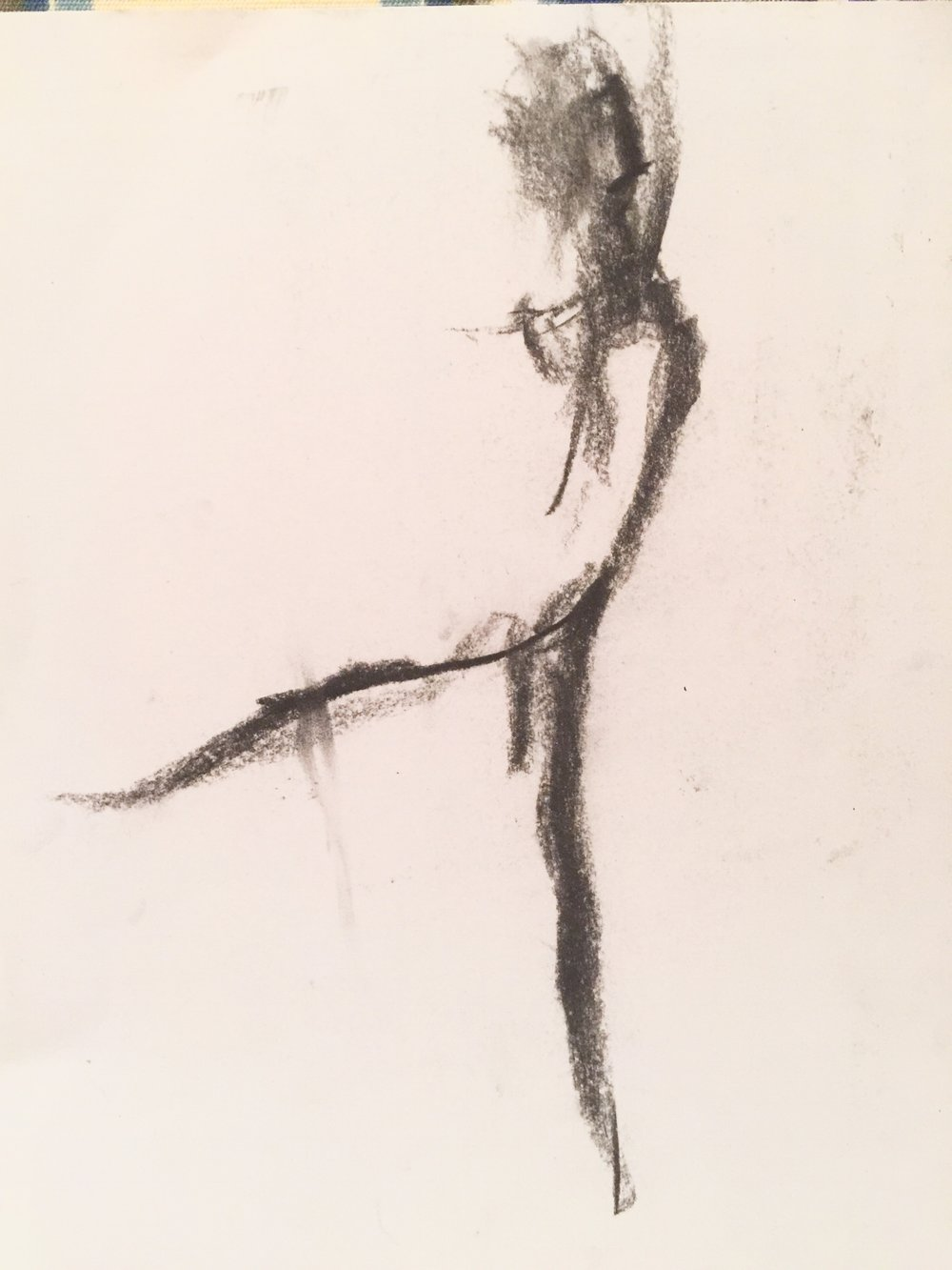 Dancer Looking Skyward, J.Heloise 2015