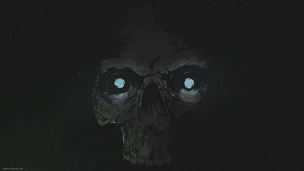 4k Skull Wallpaper