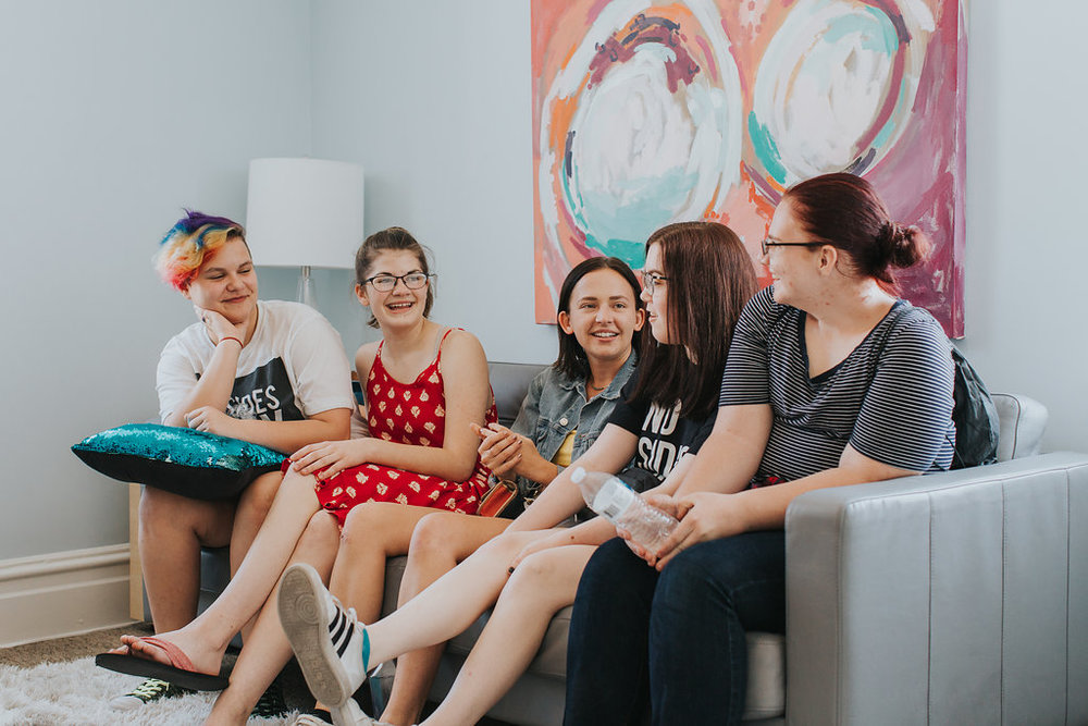 Friendship Circles - Friendship Circles provide opportunities for individuals to get together grouped by gender identity/sexual orientation and/or age to find a community of people going through the same things.Learn more about our Friendship Circles →