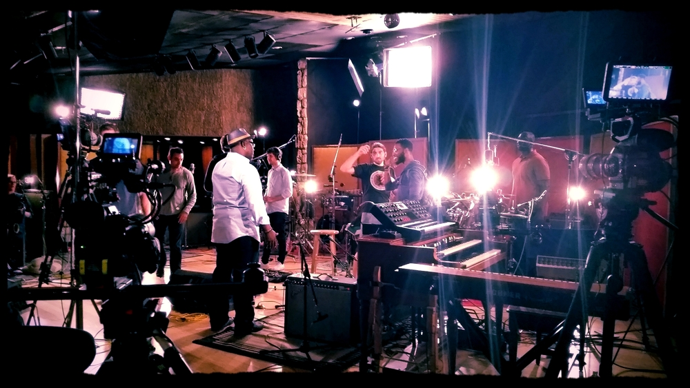 Snarky Puppy Video Shoot