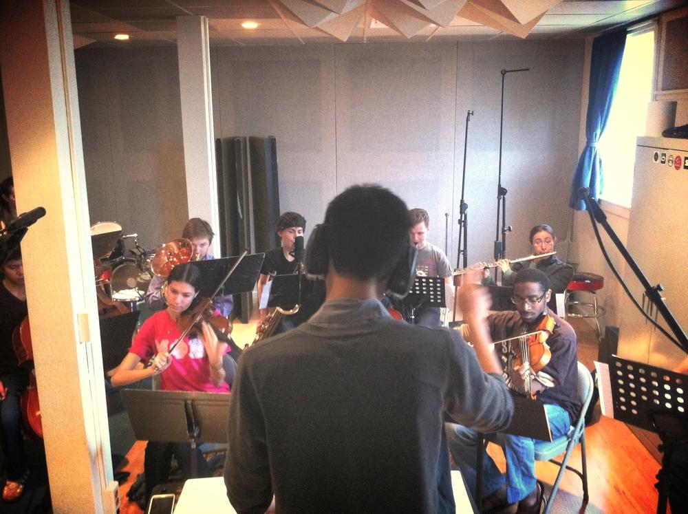 Nick Joven Chamber Ensemble Recording