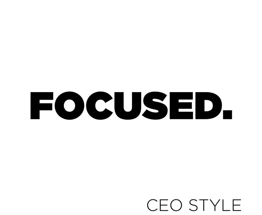 #FOCUSED Hoodies New Design - 2018