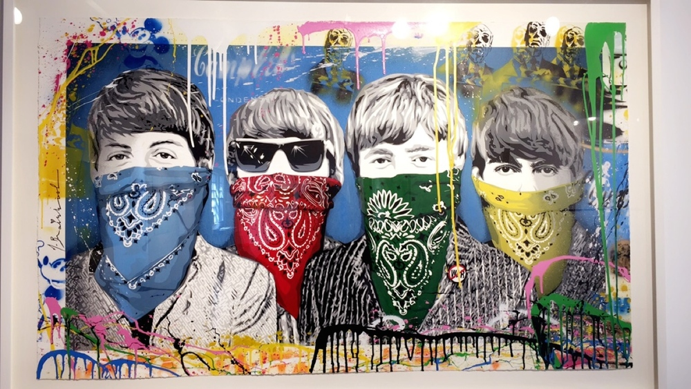 Artwork I stumbled upon in a gallery in Nantucket, MA. I will go back for this when I have money and give it to my kid for his or her 8th birthday (the age I realized how much I really loved The Beatles).