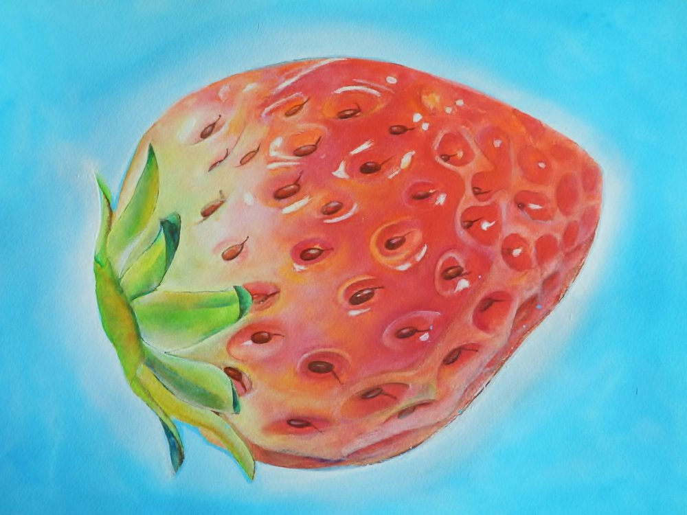 Strawberry aura