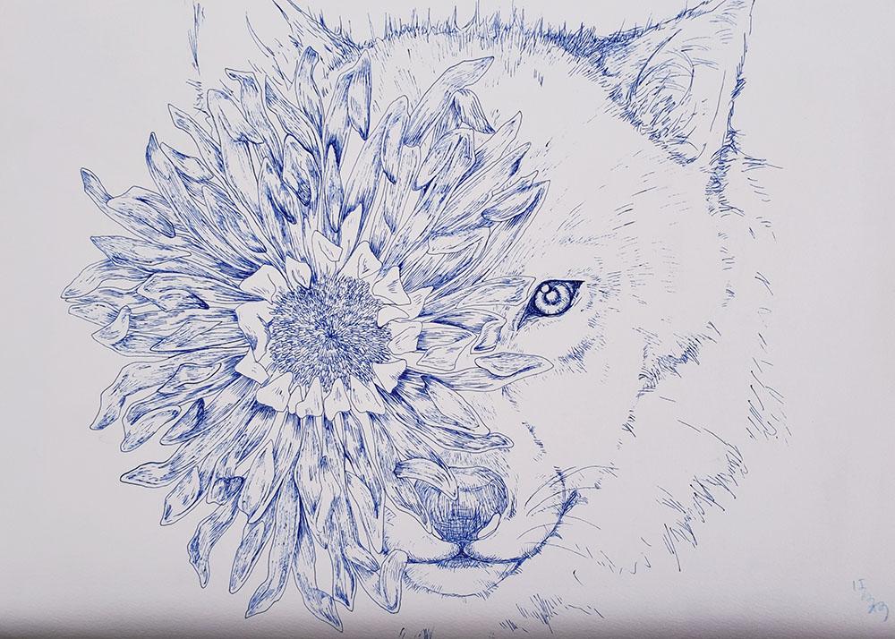 Flower eyes