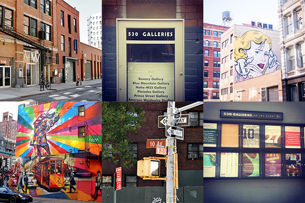 Venue Chelsea,New York   New York where works of talented artists from around the world gather. A lot of galleries are crowded in the Chelsea district on the west side of downtown New York. The gallery Pleiades Gallery is located between the world famous Pace gallery, 10th Avenue and 11th Avenue on the W 25th Street.
