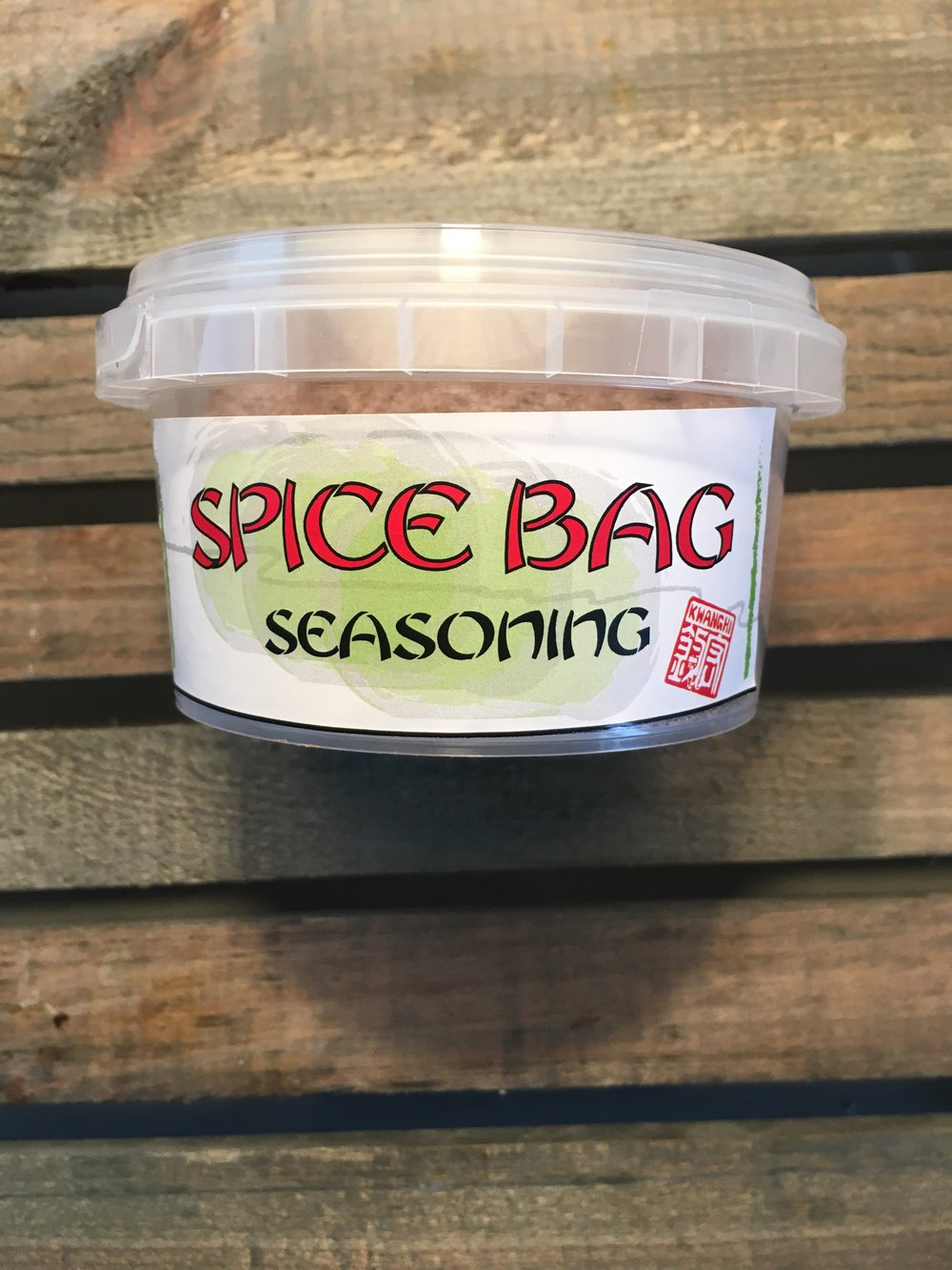 "Home of the Famous "" Spice Bag Seasoning """