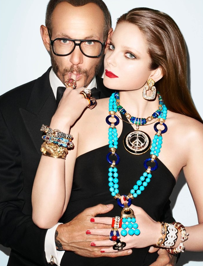 Fig. 5-7  David Webb Campaign by Terry Richardson, FW11