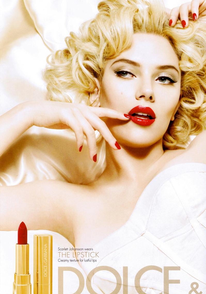 Fig. 8 - Scarlett Johansson for D&G ad