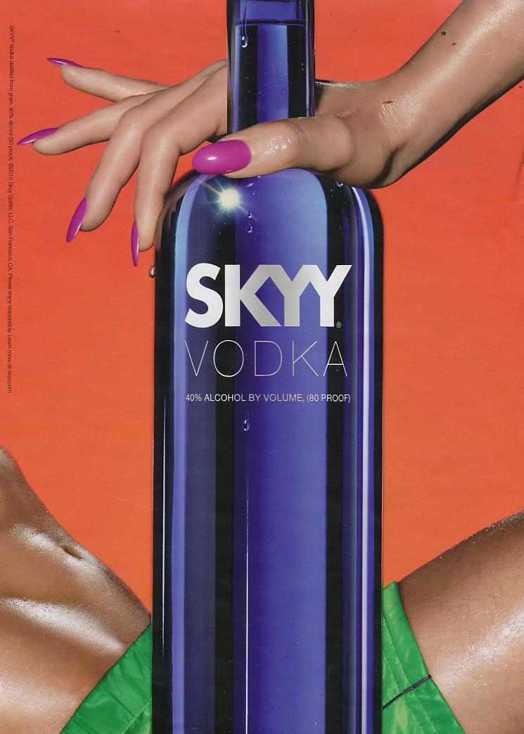 Fig. 9 - Sky Vodka advertisement