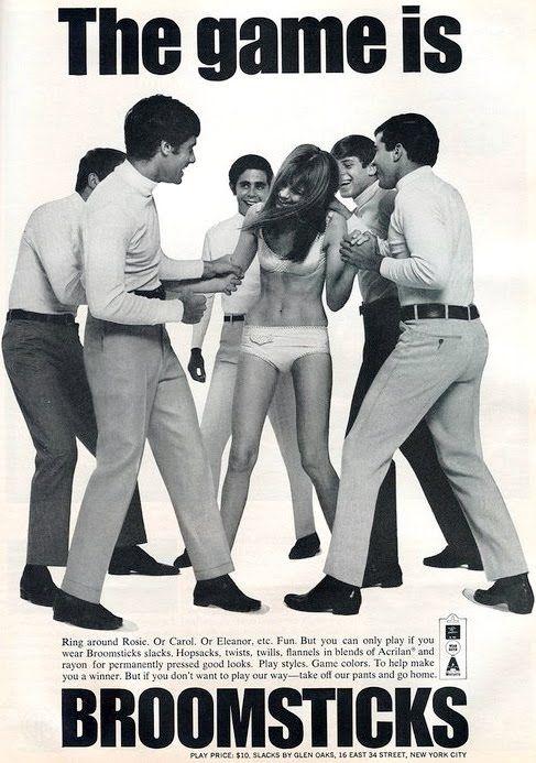 Fig. 11 - Broomsticks pants ad (1960s)
