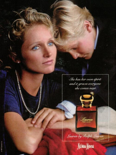 Fig. 21 - Ralph Lauren perfume ad (1987)