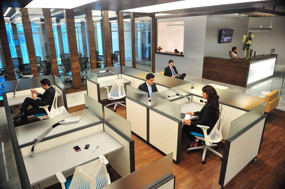 Ciudad de México Insurgente sur IOS OFFICES Citi center_Businesslounge_Cowork