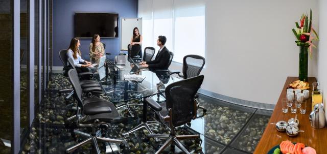 Ciudad de México Paseo de la Reforma 222 IOS OFFICES_Executiveroom_Salas de Junta