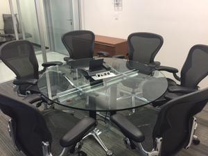 Renta de oficinas equipadas en Torre Mapfre