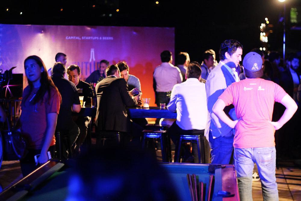 El evento Venture Beers organizado por Disruptive Angels en IOS Torres Campestre.
