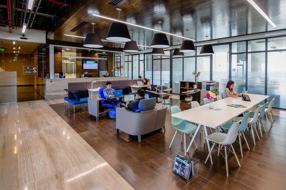 Un espacio de coworking IOS en Querétaro.