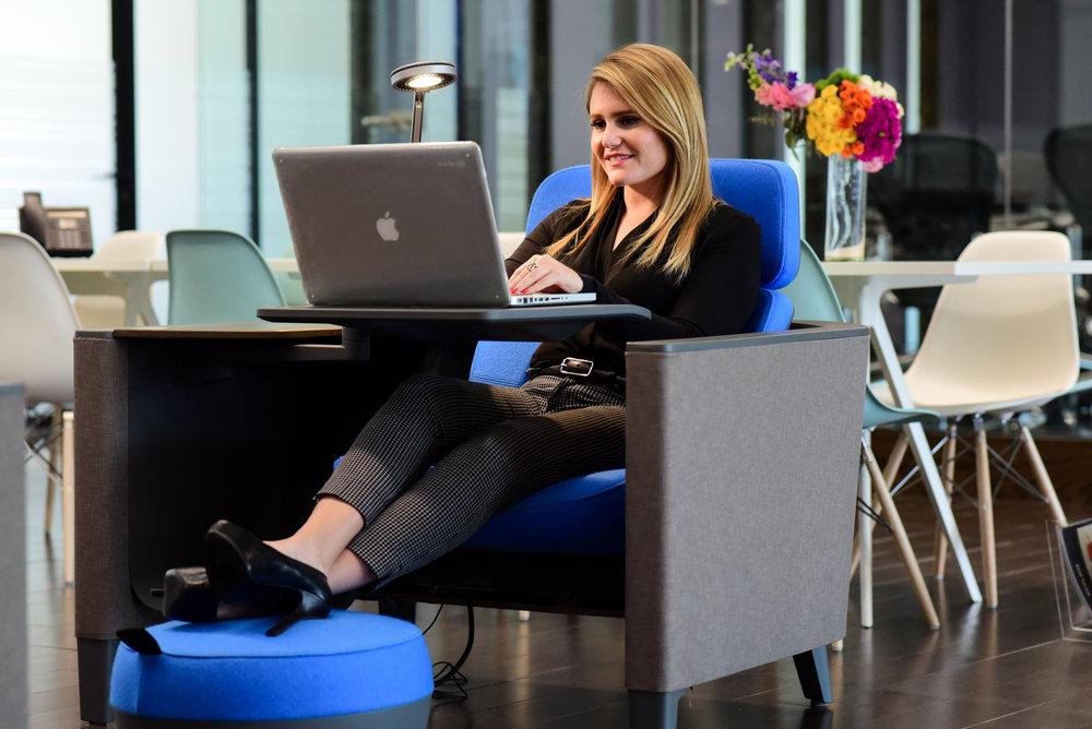 Alejandra Sáenz, Center Manager IOS OFFICES Punto Sur