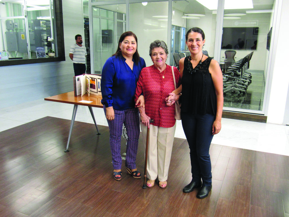 Marycarmen Pérez Rodríguez, Gloria Goya y Selma Guisande.JPG