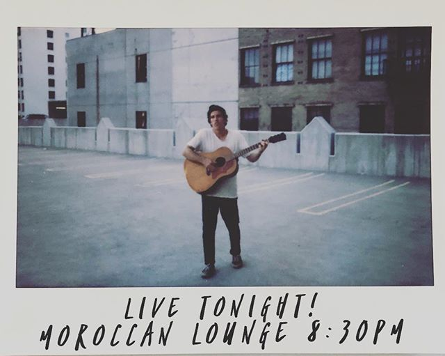 Come hang @moroccanlounge TONIGHT ! Yeah, it's Monday, so what...live a little ... ❤️... we play at 8:30pm ...then @cayucas !
