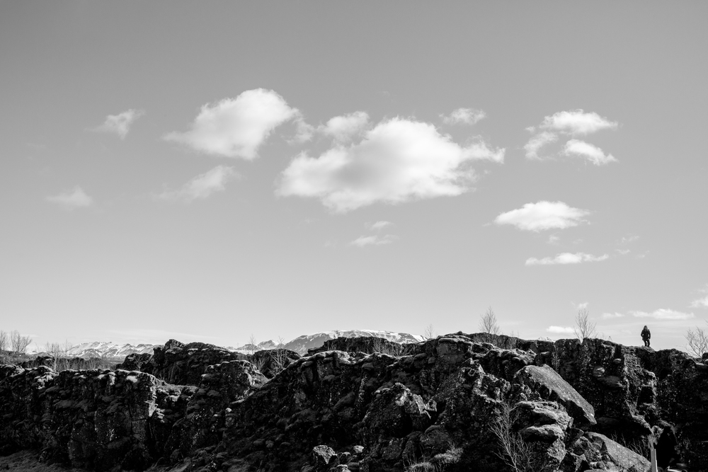 "Þingvellir National Park - ""Not all those who wander are lost"" - J.R.R. Tolkien."